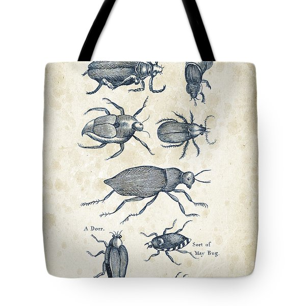 Insects - 1792 - 02 Tote Bag by Aged Pixel
