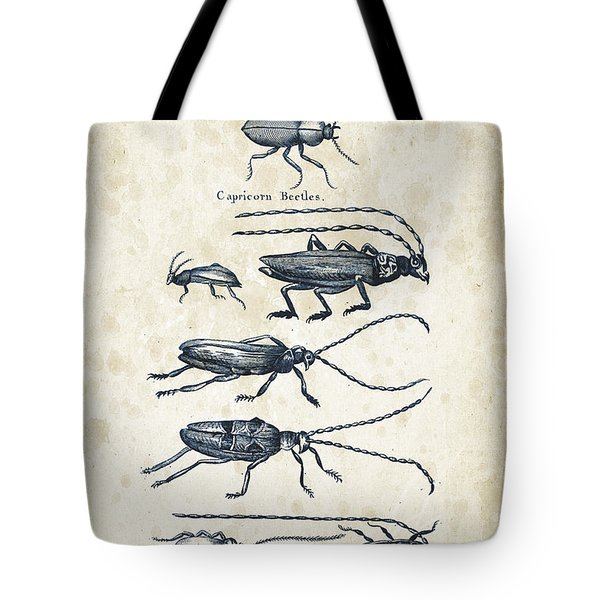 Insects - 1792 - 03 Tote Bag by Aged Pixel