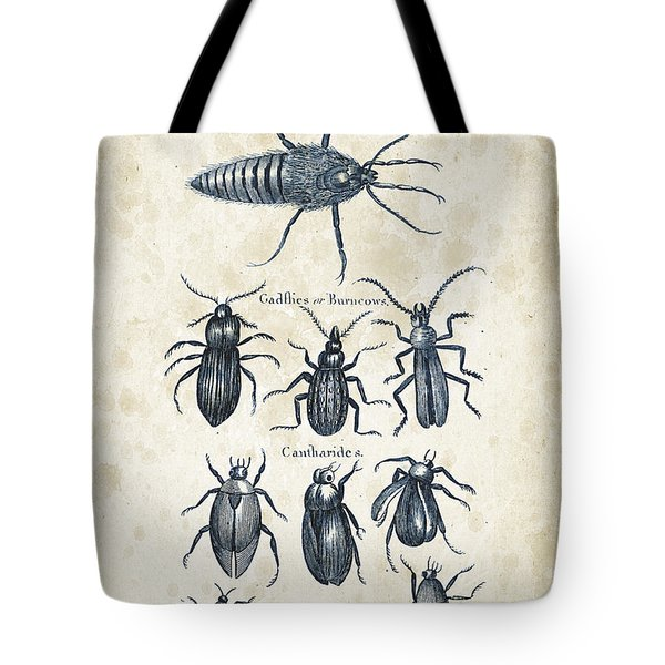 Insects - 1792 - 04 Tote Bag by Aged Pixel