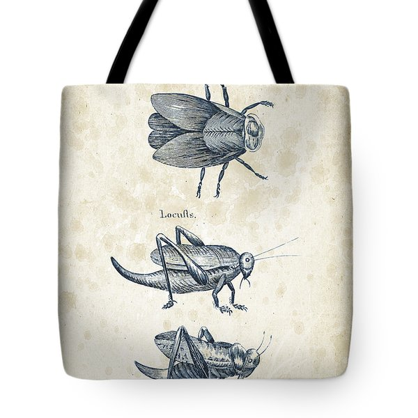 Insects - 1792 - 08 Tote Bag by Aged Pixel