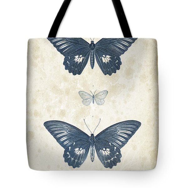 Insects - 1832 - 01 Tote Bag by Aged Pixel