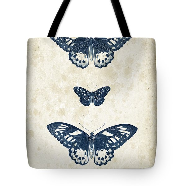 Insects - 1832 - 04 Tote Bag by Aged Pixel