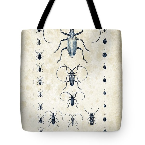 Insects - 1832 - 08 Tote Bag by Aged Pixel