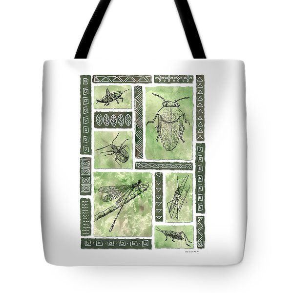 Insects Of Hawaii I Tote Bag