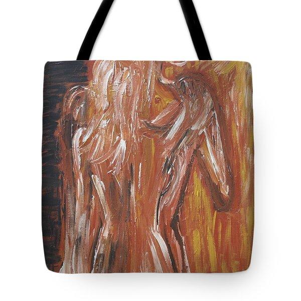 Inseparable Lovers Tote Bag by Jasmine Tolmajian