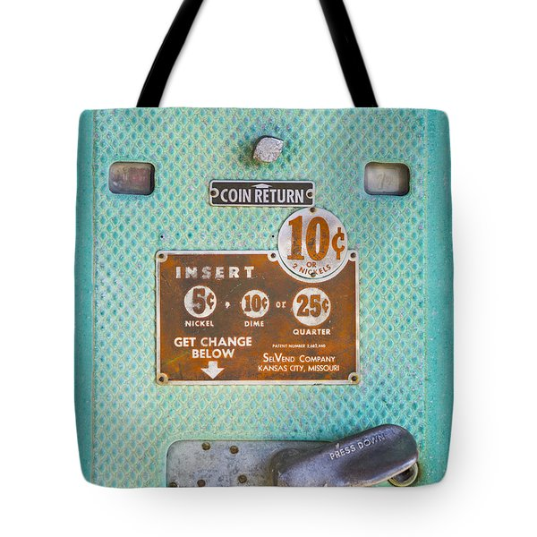 Insert Coin Tote Bag by Christina Lihani