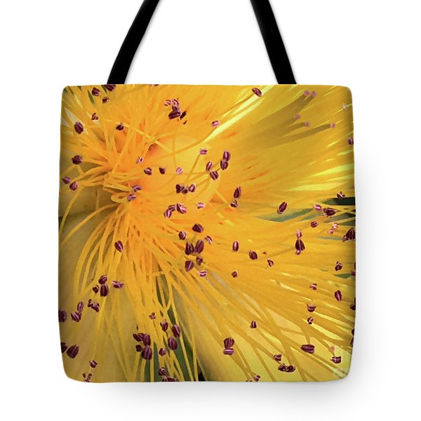 Inside A Flower - Favorite Of The Bees Tote Bag