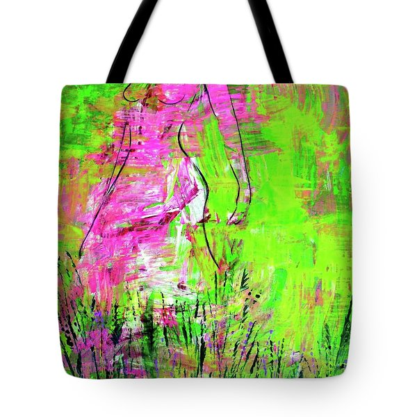 Inside And Out Tote Bag