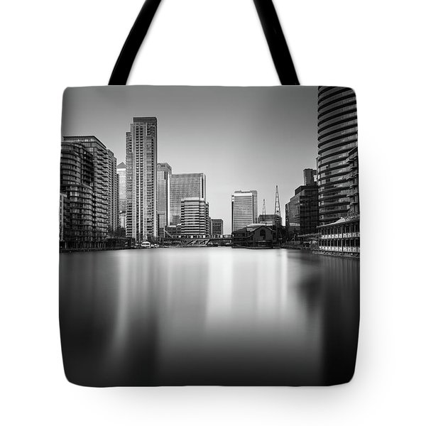 Inside Canary Wharf Tote Bag by Ivo Kerssemakers