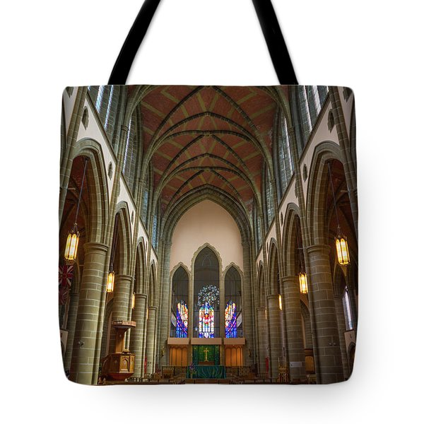 Inside Christchurch Cathedral Tote Bag