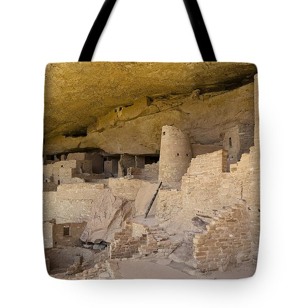 Inside Cliff Palace  Tote Bag