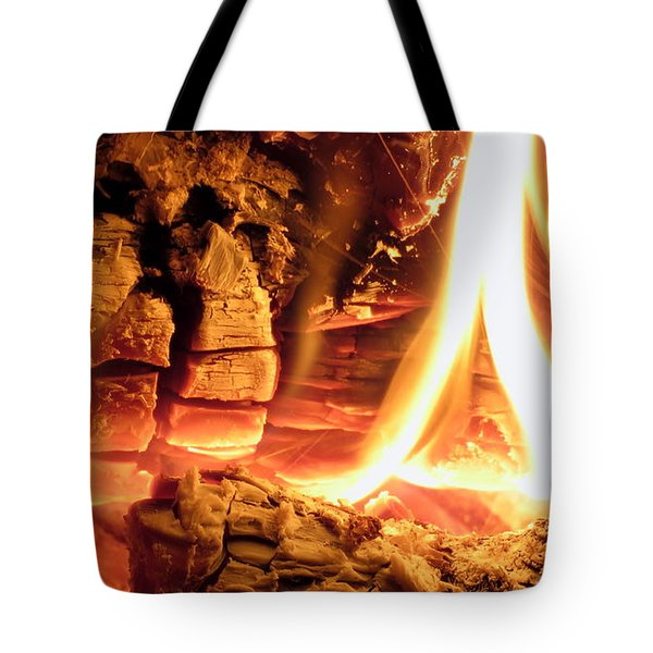 Inside Fire Tote Bag
