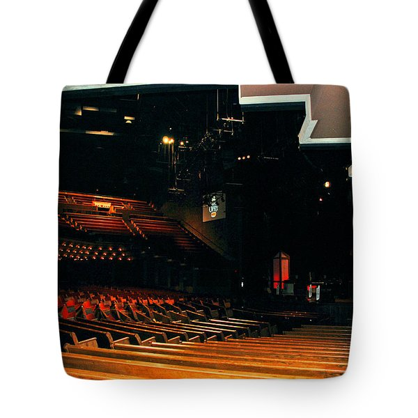 Inside Grand Ole Opry Nashville Tote Bag by Susanne Van Hulst