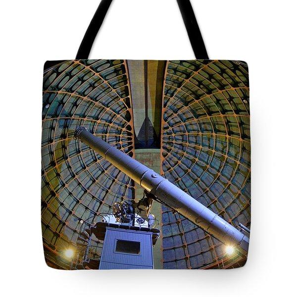 Inside Lick Observatory Tote Bag