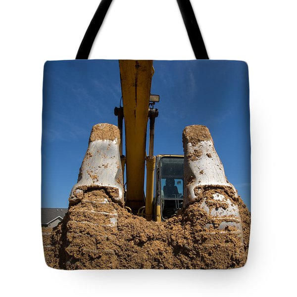 Inside The Bucket Tote Bag