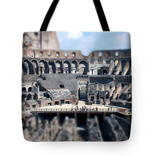 Inside The Colosseum Tote Bag