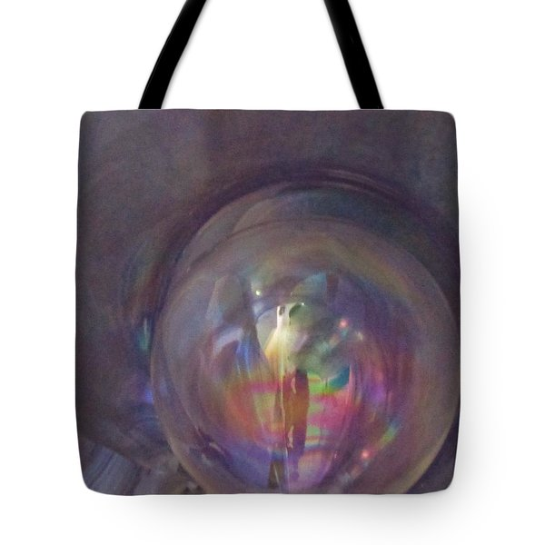 Inside The Fifth Dimension Tote Bag