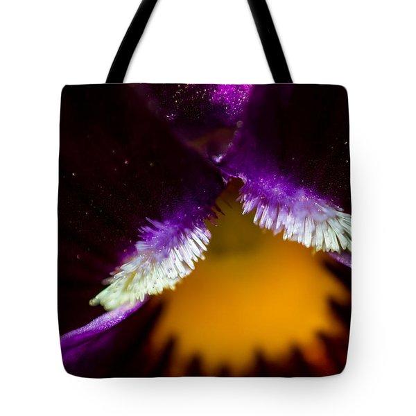 Inside The Flower 3 Tote Bag
