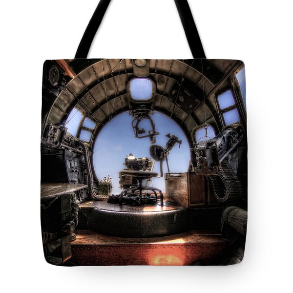 Inside The Flying Fortress Tote Bag