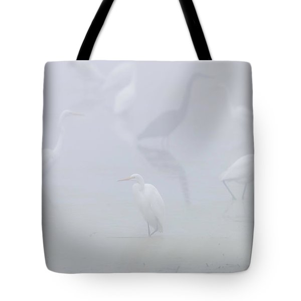 Inside The Fog Tote Bag