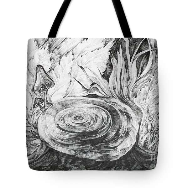 Inside The Forest Tote Bag by Anna  Duyunova