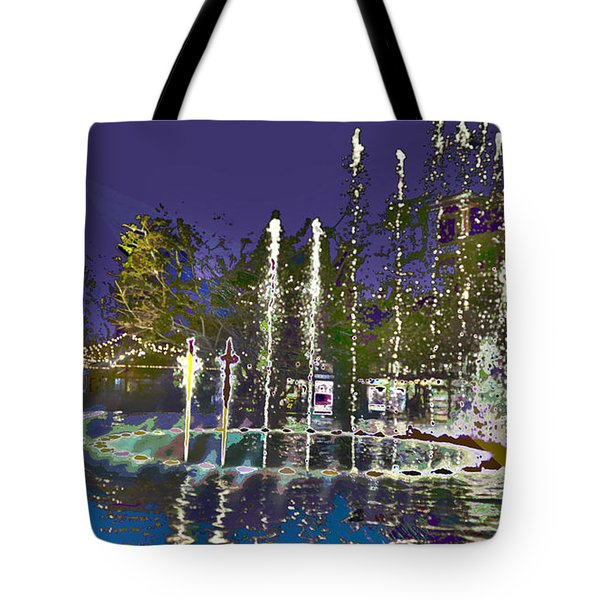 inside the heart of Glendale - 200,000 hearts beat Tote Bag