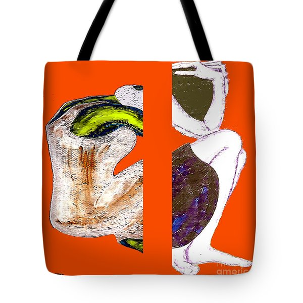 Inside The Heart Tote Bag by Patrick J Murphy