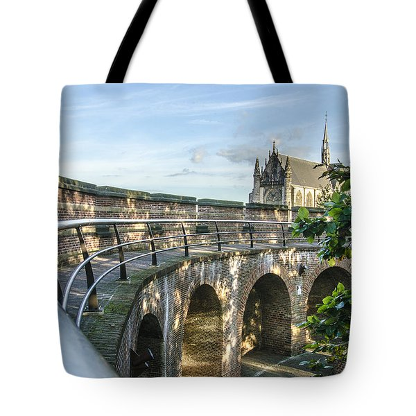 Inside The Leiden Citadel Tote Bag