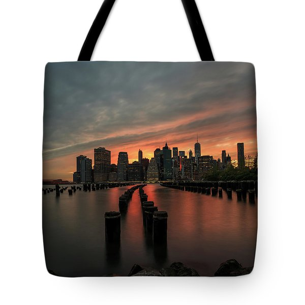 Inside The Lines  Tote Bag