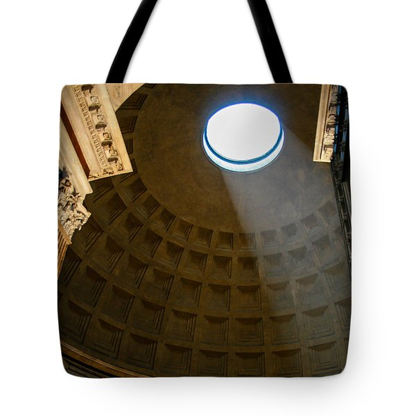 Inside The Pantheon Tote Bag