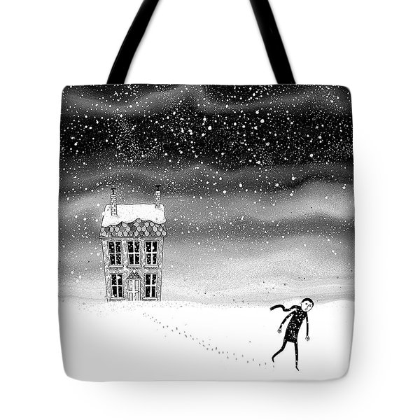 Inside The Snow Globe  Tote Bag