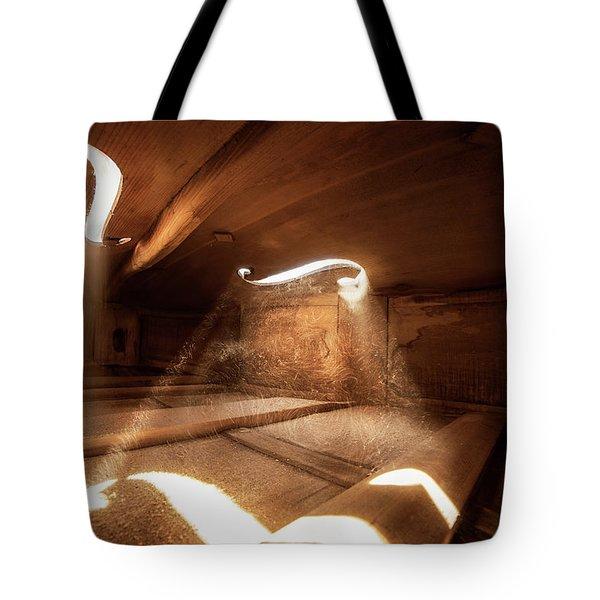 Inside Violin IIi Tote Bag