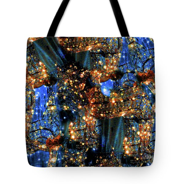 Tote Bag featuring the digital art Inspiration #6102 by Barbara Tristan