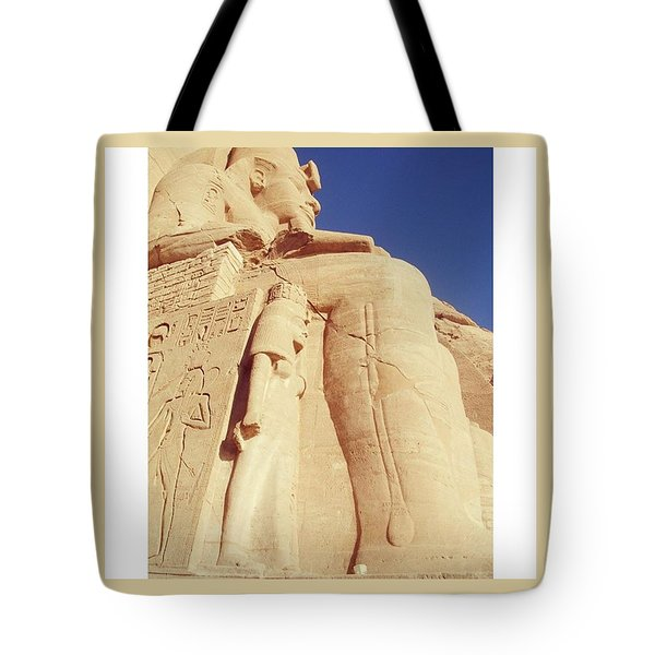 Egytian Monument Tote Bag by Patsy Jawo