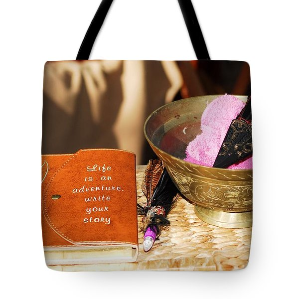 Inspiration For Living Tote Bag