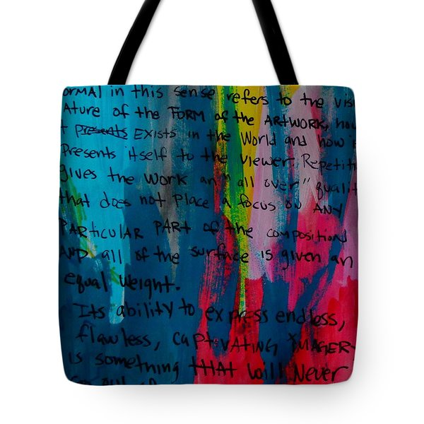 Inspiration From Warhol Tote Bag
