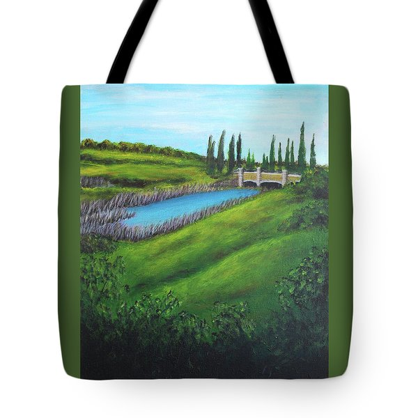Inspiration In Mountain House Tote Bag