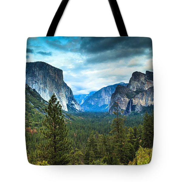 Inspiration Point Yosemite Tote Bag