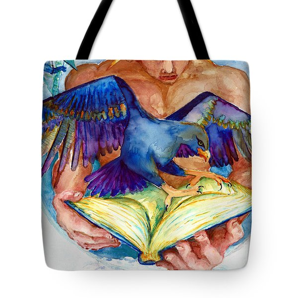 Inspiration Spreads Its Wings Tote Bag by Melinda Dare Benfield