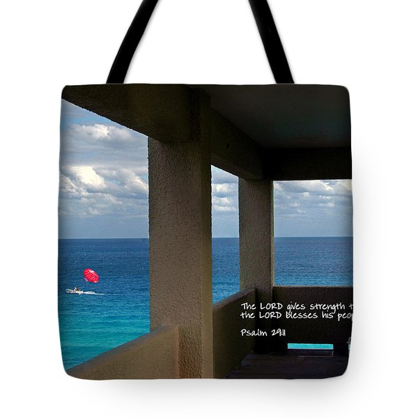 Inspirational - Picture Windows Tote Bag