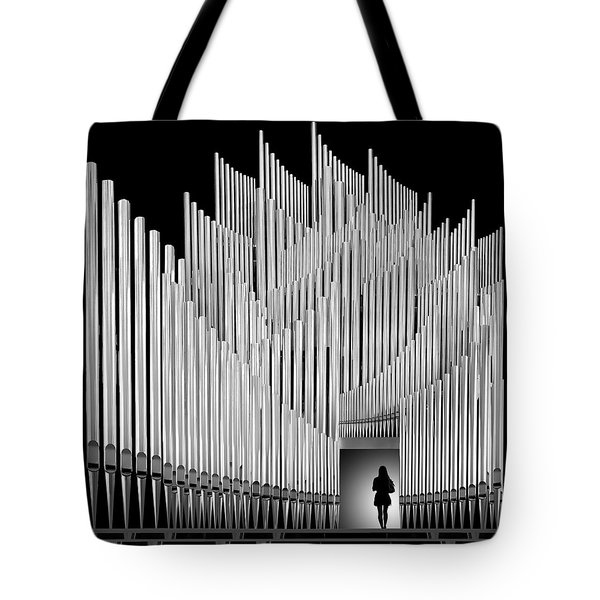 Inspirational Walk Tote Bag by Joe Bonita