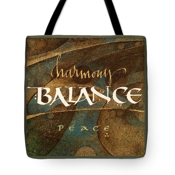 Inspirational Words Tote Bag