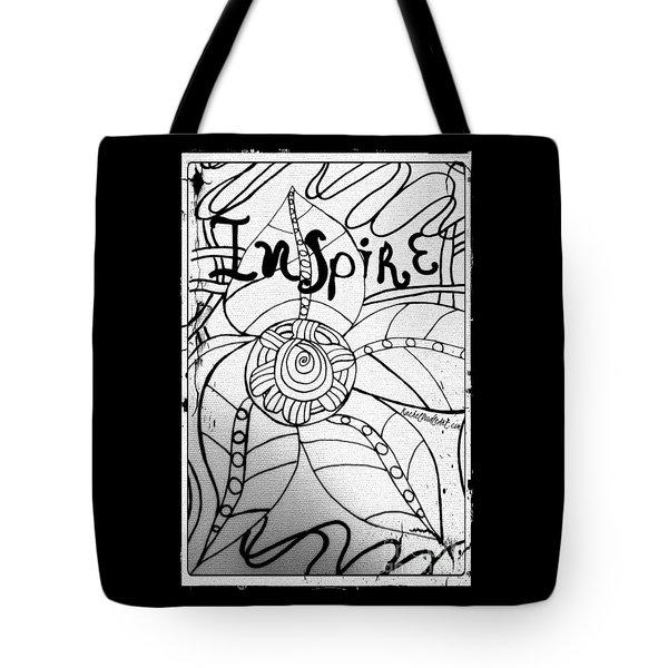 Inspire Tote Bag