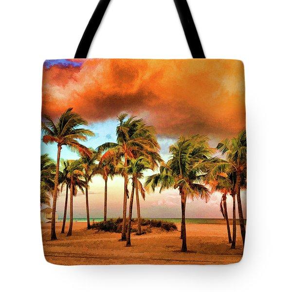 Crandon Park Beach Tote Bag