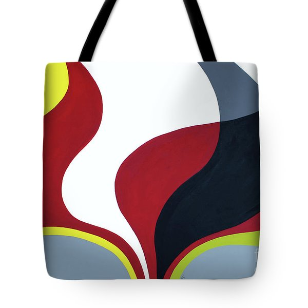 Inspired By Mid Century Modern Tote Bag by GG Burns