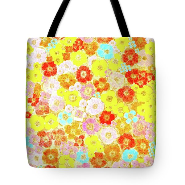 Tote Bag featuring the painting Inspired By Persimmon by Lorna Maza
