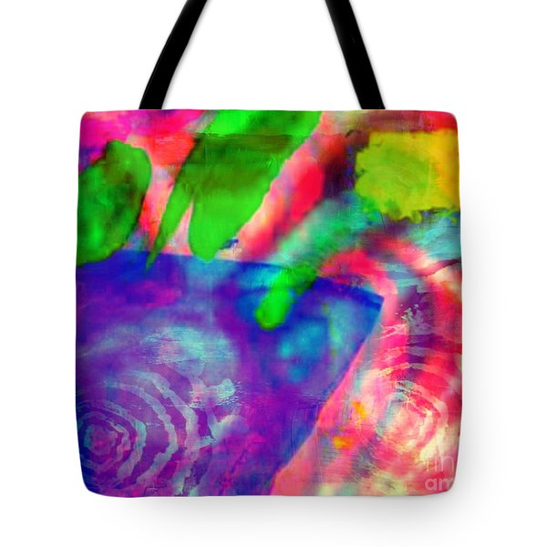 Inspired Flower Pot Tote Bag by Fania Simon