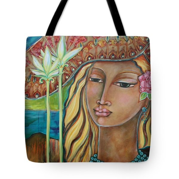 Inspired Tote Bag by Shiloh Sophia McCloud