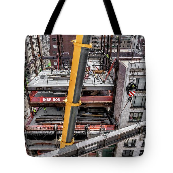Inspiron 82nd Street Tote Bag by Rafael Quirindongo