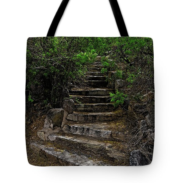 Tote Bag featuring the photograph Instep With Nature V53 by Mark Myhaver